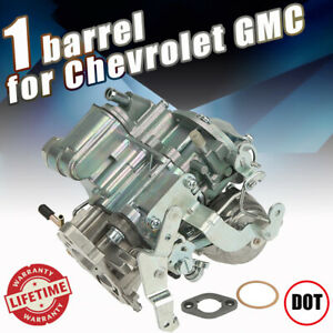 1bbl Carburetor W Gasket For Chevrolet Chevy Gmc 250 292 C10 C20 C30 Cab Pickup