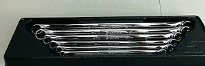 Snap On 6 Piece Metric Flank Drive 15 Offset Box Wrench Set 8 20mm Xdhm606 Usa