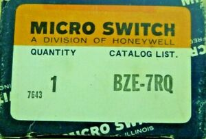 Honeywell Micro Switch Bze 7rq Roller Lever Arm Limit Switch