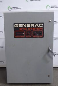Used 105 Amp Generac 93a01317 w Gts System Automatic Transfer Switch