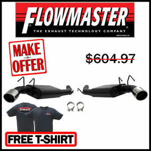 Flowmaster 817495 10 13 Camaro Ss 6 2l 3 Axle Back Exhaust System 409s