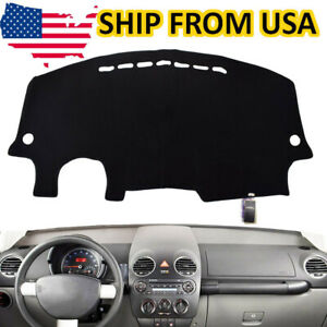 For 1998 2011 Volkswagen Vw Beetle Dash Cover Dashboard Pad Mat Shield Black