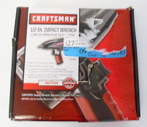 New Open Box Craftsman 19983 1 2 Impact Wrench Free Shipping