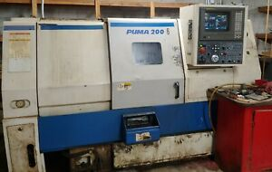 Daewoo Puma 200lc Cnc Turning Center 8 Chuck Lathe