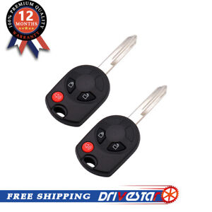 2 Keyless Entry Remote Key Fob Replacement For Ford Mazda Lincoln Mercury Hot