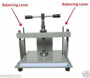 A4 Size Manual Flat Paper Press Machine For Nipping Books Invoices Sz