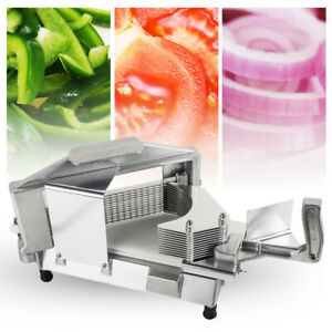 3 16 Tomato Slicer Commercial Kitchen Manual Tomato Cutter Lemon Safty Cutting