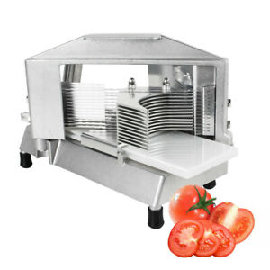 3 16 Commercial Tomato Slicer Stainless Steel Blade Kitchen home Tomato Cutting