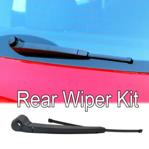 Rear Windshield Wiper Arm Blade Set For Vw Polo 9n3 Golf V Vi Variant Plus 5m1