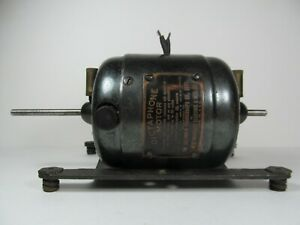 Antique Vintage Westinghouse Dictaphone Electric Motor Works