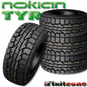 4 Nokian Rotiiva At Plus Lt265 75r16 123 120s 10 ply All Terrain 60k Mile Tires