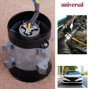 Auto Car 12v 16 5a Electric Turbine Power Turbo Charger Tan Boost Air Intake Fan