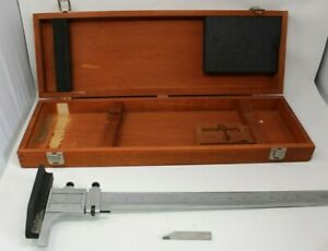 Starrett No C454 19 Height Gauge stand For Machine Shop Tools with Wooden Box