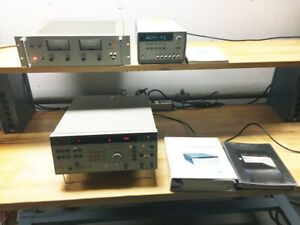 Bundle Agilent E3631a Power Supply hp 6264b Power Supply Hp 3326a Synthesizer
