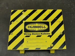 Hubbell Wiring Device kellems Sdsb1a spider Box 30a Straightblade
