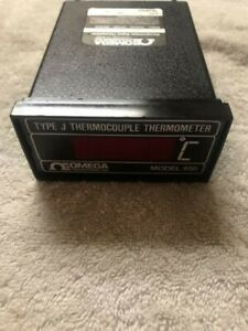 Omega Model 650 Type J Thermocouple Microprocessor Digital Thermometer