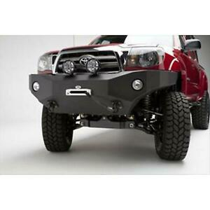Body Armor 4x4 Toyota Tacoma Front Winch Bumper In Textured Powder Coat Tc 1933