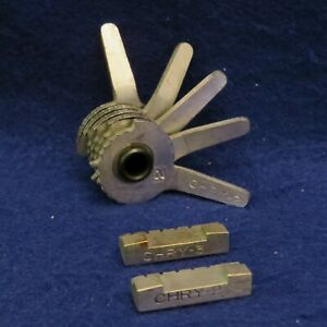 Curtis Model 15 Code Cutter 5 Cut Chry 2 Cam W Chry 2 3 Carriage See Pics