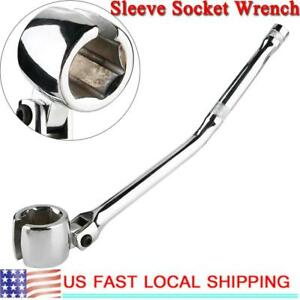 1x Powerful 7 8 Oxygen Sensor Wrench Sleeve Socket Head Removal Wrench Car Parts