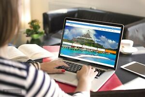 Travel Website Without Hosting Fees Forever
