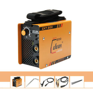 220v Mma Arc Welder Dc Igbt Welding Machine Solder Inverter W Electrode Clamp