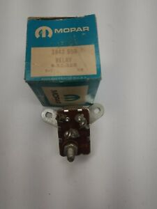 1958 1959 1960 Chrysler Windsor 1960 Desoto Starter Relay Nos 1842550 Mopar