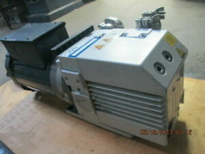 Oerlikon Leybold Trivac Pump D8b motor 115 230 0 75 Hp_powers Up And Works_deal