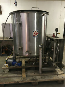 Wenger Stainless Steel 250g Steam Heated Process Cooker Reactor Tank Vessel