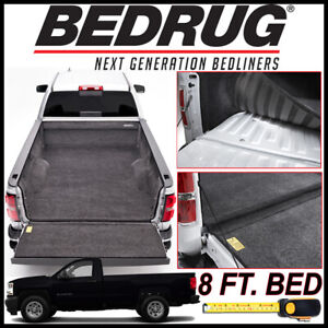 Bedrug 2007 2018 Chevy Silverado Custom Bed Protection Liner Mat Fits 8 Ft