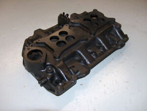 Dodge Chrysler Plymouth 318 Poly 2x4 Dual Quad Cast Iron Intake Manifold 1822004