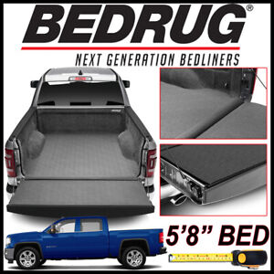 Bedrug Impact Liner Truck Bed Mat For 2007 2018 Gmc Sierra 1500 With 5 8 Bed