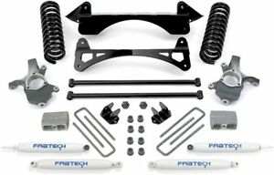 Fabtech K1033 3 Spindle Lift Kit W Per Shocks For 1999 2006 Gm 1500