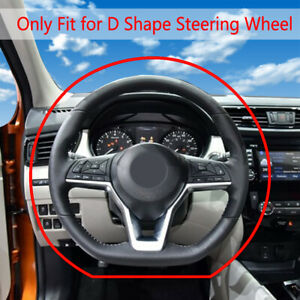 Steering Wheel Cover Artificial Leather For Nissan Rogue Rogue Sport 2017 2018