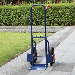 440lbs Heavy Duty Stair Climbing Moving Dolly Hand Truck Warehouse Cart Blue
