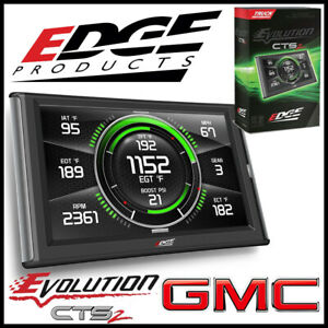 Edge Products Evolution Cts2 Tuner Monitor 2001 2016 Gmc Sierra Diesel Trucks