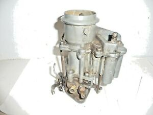 1953 1954 Plymouth With Hy Drive Transmission Ball And Ball D6p2 Carburetor