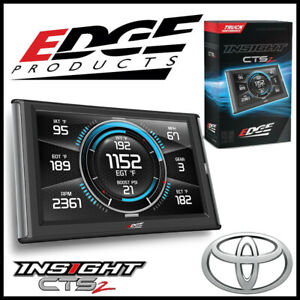Edge Products Insight Cts2 Gauge Monitor Fits 2000 2017 Toyota Tundra Trucks