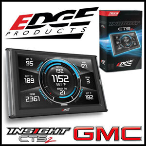 Edge Products Insight Cts2 Gauge Monitor For 1999 2019 Gmc Sierra Trucks