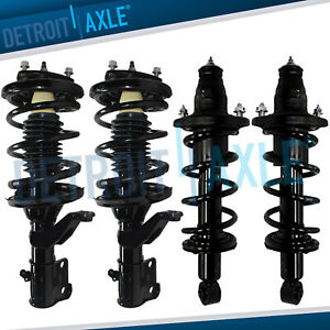 2003 2004 2005 Honda Civic Struts Complete Assembly All 4 Front Rear 1 7l