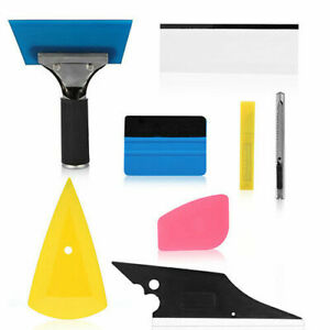 8pcs Pro Window Tinting Tools Kit Auto Car Vinyl Wrap Application Tint Film