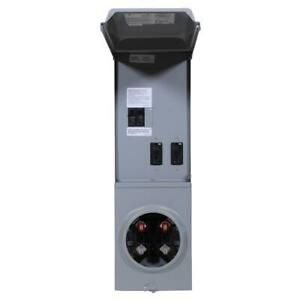 Meter Socket Temporary Power Panel Load Center Gpi U ground Protect Receptacle
