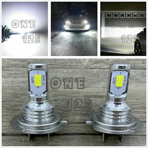 H7 Csp Led Headlight Bulbs Kit High Low Beam 40w 7000lm Super Bright 6000k White