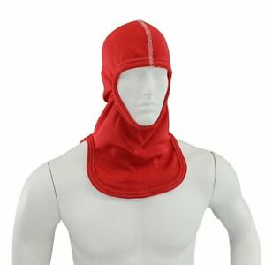 100 Nomex Fire Apparel Hood For Firefighter Nfpa Majestic Pac Ia Red Fire Hood