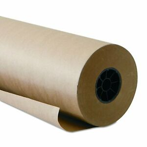 Brown Kraft Paper Roll Table Top Cover Wrapping Papers Shipping Packing Supplies