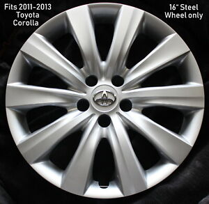 One Replacement 16 Toyota Corolla Hubcap 2011 2012 2013 Hubcap Wheel Cover Aaa