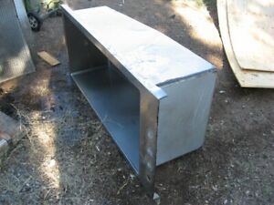 Super Size Stainless Steel Sink Single Compartment Dog Washing 22 X 50 X 19