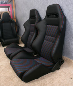 Recaro Bmw Evo Srd Leather Seats E30 The Pair