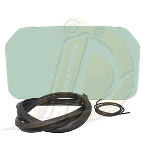 Bobcat Rear Window Glass With Seal And Cord Fits S175 S185 S205 S220 S250 S300