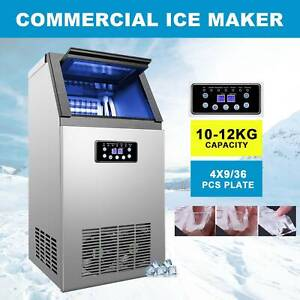 Automatic Portable Built in Commercial Ice Maker 4x9 36 Ice Cubes 300w 100lb 24h