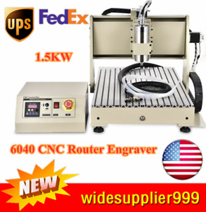 Usb 4 Axis Engraver Cnc 6040 Router Metalworking Milling Machine 1 5kw Vfd Top